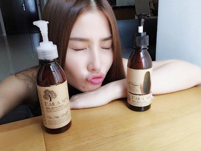 Dầu Gội Laila Spa Hair Grow Faster