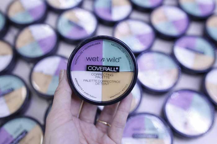 Kem Che Khuyết Điểm Wet n Wild Coverall Correcting Palette