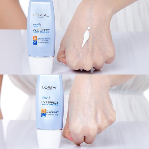 Kem Chống Nắng L'oreal UV Perfect Aqua Essence SPF 50+/PA++++