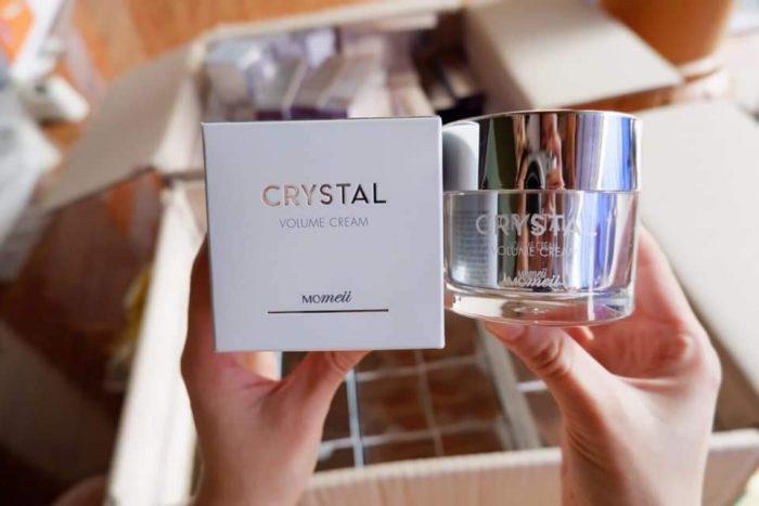kem dưỡng da momeii crystal Volume cream
