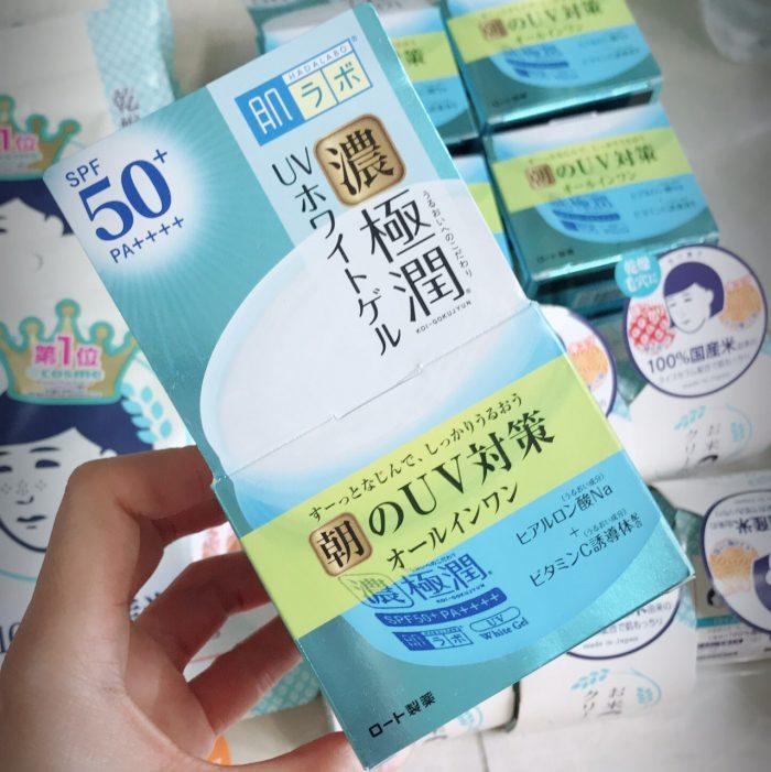 Kem dưỡng ngày Hada labo Koi-Gokujyun 7 in 1 SPF 50+/PA++++