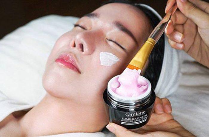 Kem trị Nám Camiane Luminous Vital W-Cover Cream