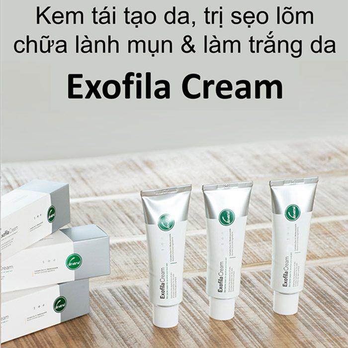 Kem Trị Mụn & Làm Liền Sẹo Honesi Exofila Cream