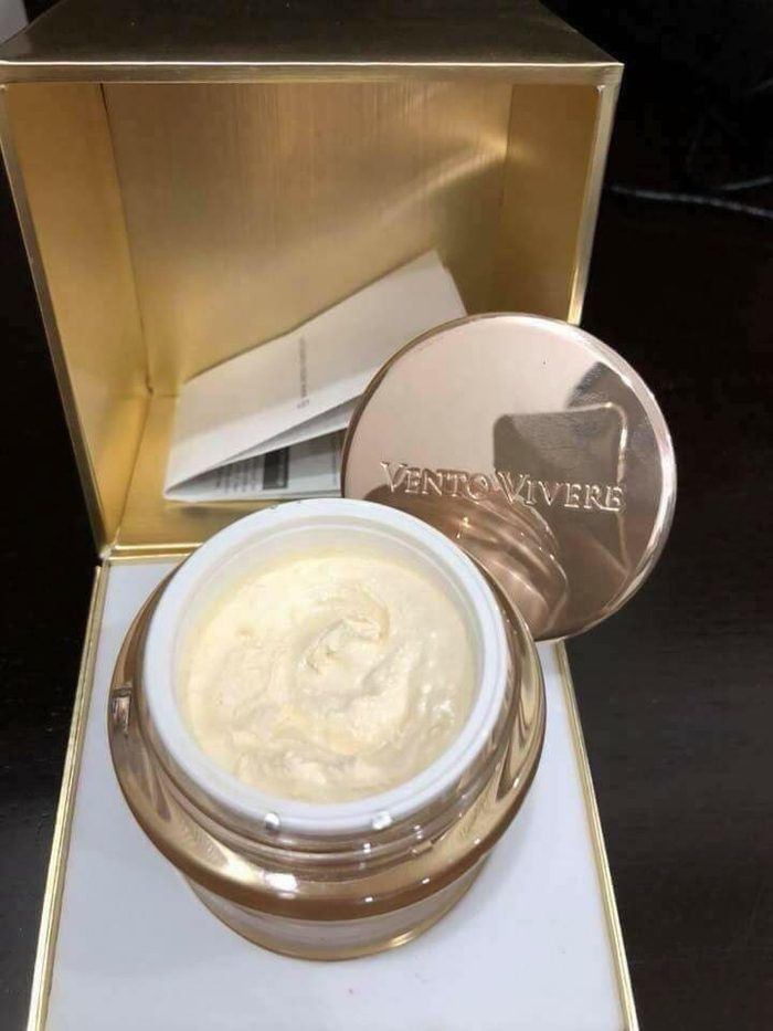 Kem Vento Vivere Pearl rase illuminating cellular cream