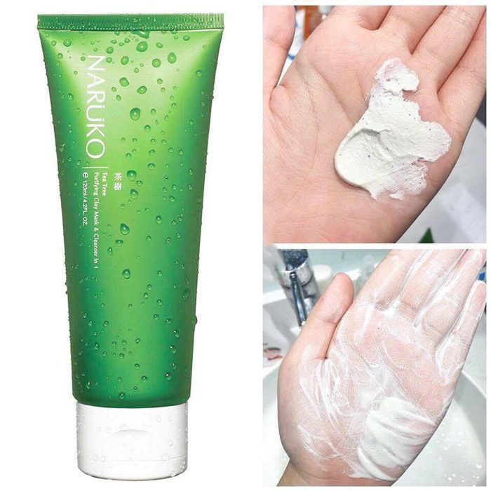 Sữa Rửa Mặt Naruko Tea Tree Purifying Clay Mask and Cleanser‎