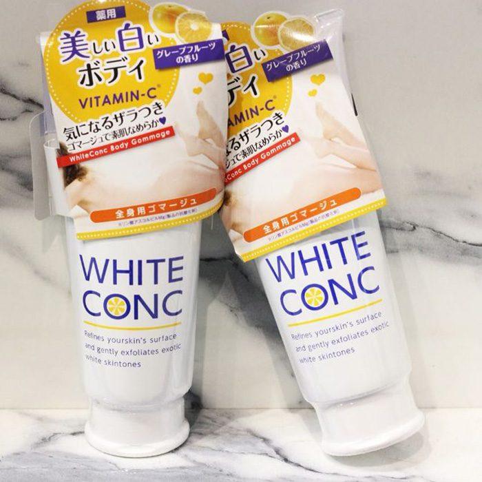 Tẩy da chết White Conc Body Gommage Vitamin C