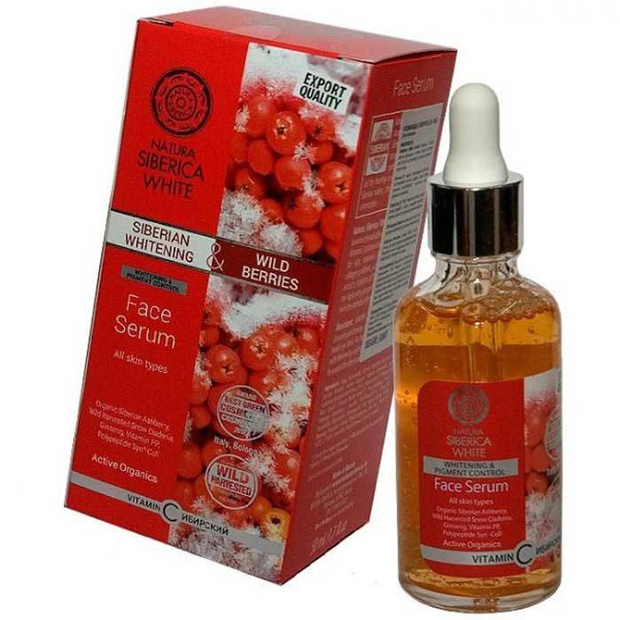 serum Natura Siberica Whitening & Wild Berries Face Serum
