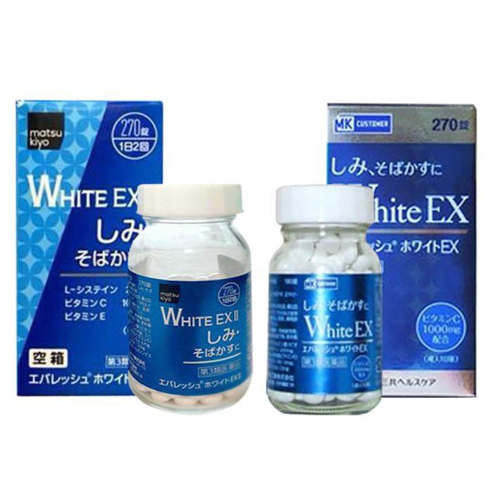 Viên uống trắng da trị nám White EX