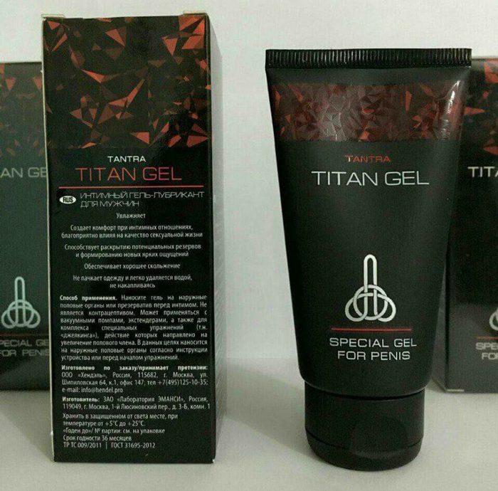 Titan Gel Special gel for penis