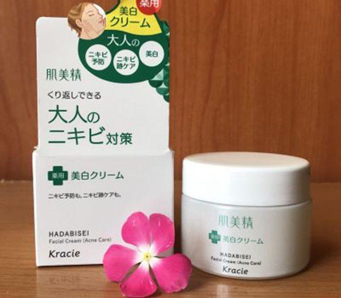 Kem dưỡng Kracie Hadabisei Facial Cream