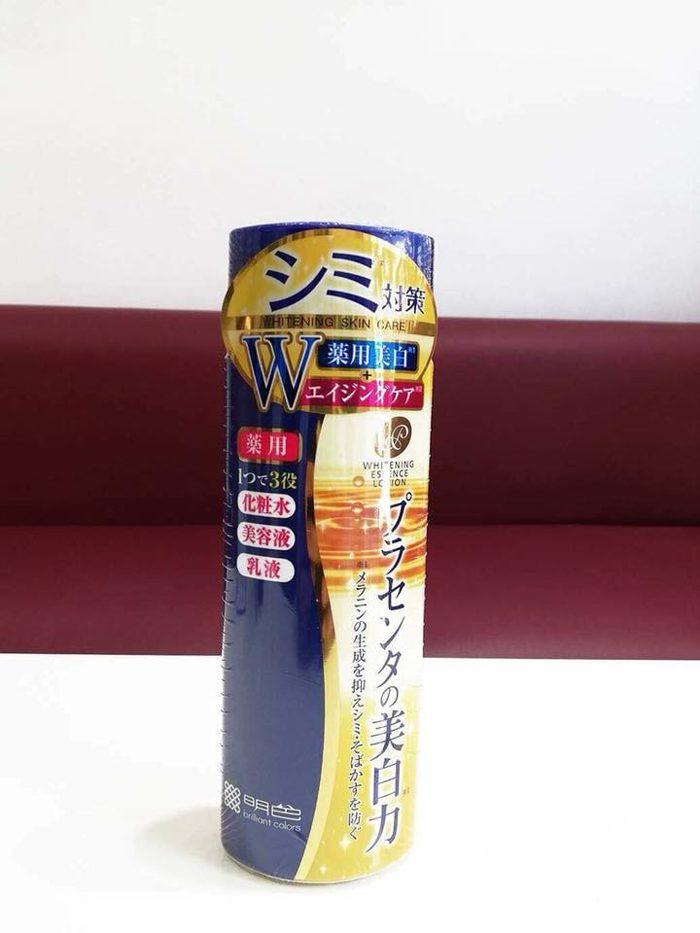 Kết quả hình ảnh cho Meishoku Whitening Essence Lotion 190ml
