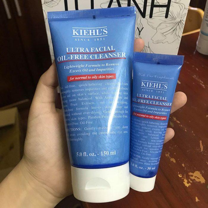 Sữa Rửa Mặt Kiehl's Ultra Facial Oil-Free Cleanser
