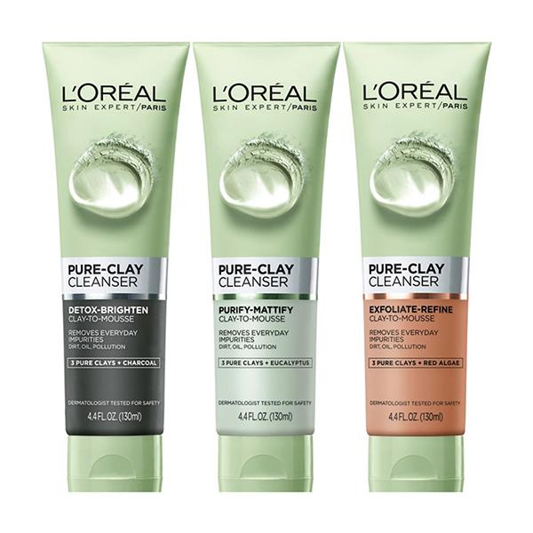 Sữa Rửa Mặt L'Oreal Pure-Clay Cleanser