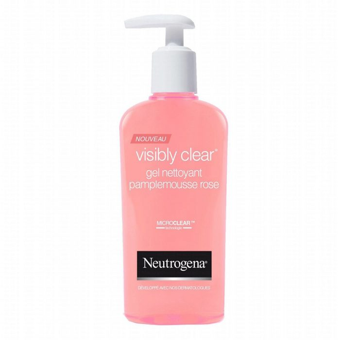 Sữa rửa mặt Neutrogena Visibly Clear Gel Pamplemousse Rose