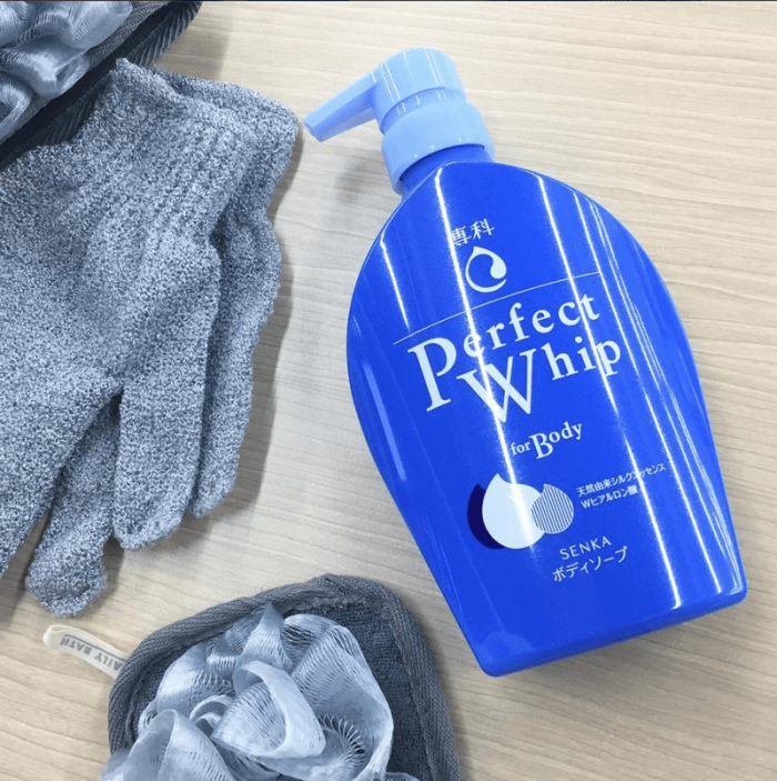 Sữa Tắm Shiseido Senka Perfect Whip For Body