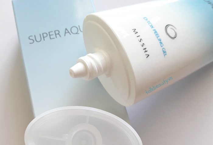 Tẩy da chết Missha Super Aqua D-Tox Peeling Gel