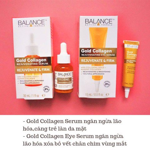 Serum Balance Gold Collagen