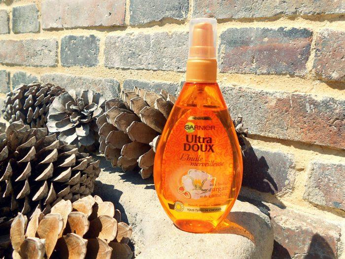 Dầu dưỡng tóc Garnier Ultra Doux L'Huile Merveilleuse