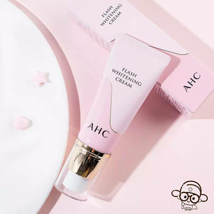 Kem Dưỡng Trắng Da AHC Flash Whitening Cream
