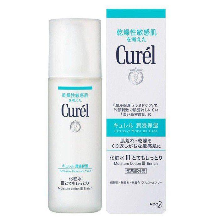 Nước hoa hồng curel whitening moisture lotion iii
