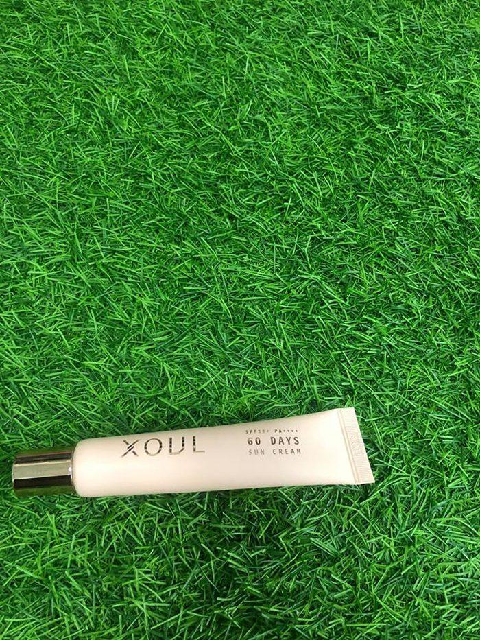 Kem chống nắng Xoul 60days Sun Cream Spf50