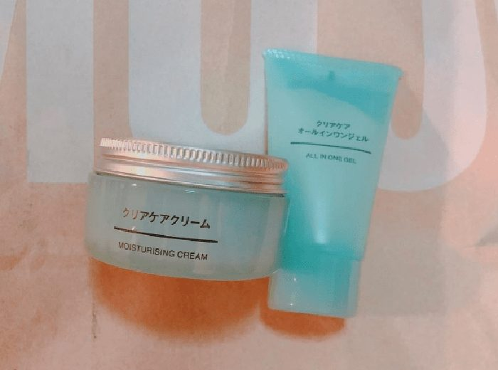 Kem Dưỡng Ẩm Muji Clear Care Moisturising Cream