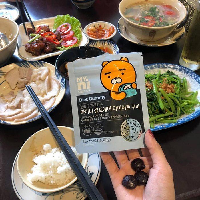 Kẹo Giảm Cân Myni Selfcare Diet Gummy Kakao Friends