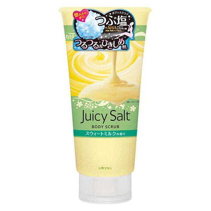 Muối Tắm Tẩy Da Chết Utena Juicy Salt Body Scrub