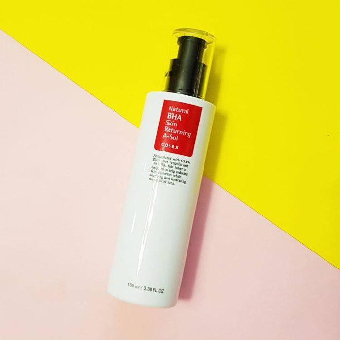 Nước hoa hồng COSRX Natural BHA Skin Returning A-So