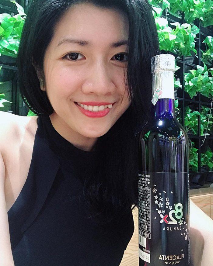 Nước uống 82x Sakura Placenta Premium 450000mg