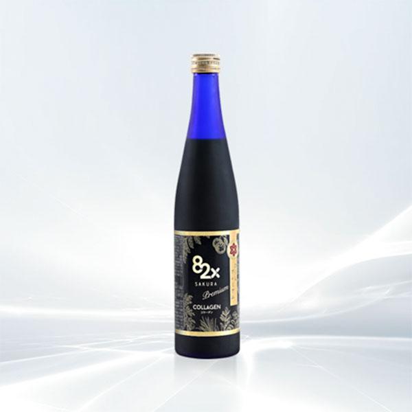 Nước uống 82x Sakura Placenta Premium 450000mg mẫu mới