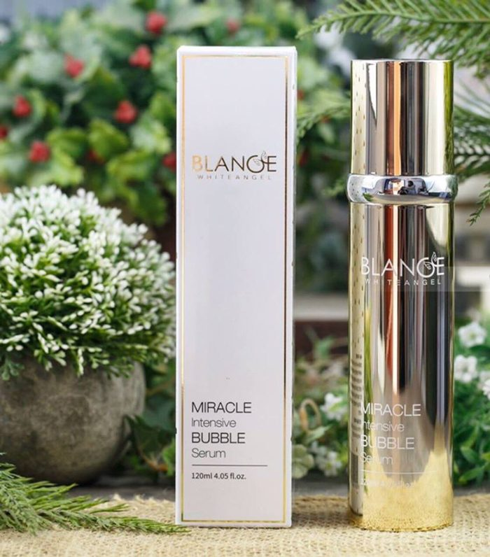 Serum Sủi Bọt Blance Whiteangle Miracle Intensive Bubble
