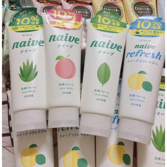 Sữa rửa mặt Kracie Naive Face Wash