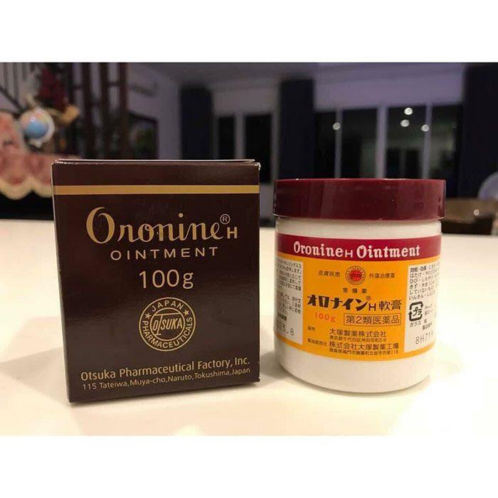 Kem Bôi Lành Vết Thương Oronine H Ointment