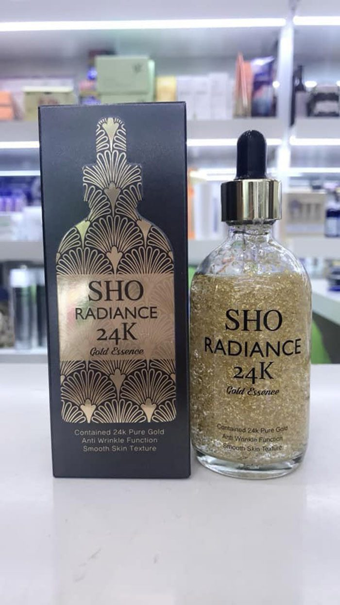 Serum Sho Radiance 24k gold essence