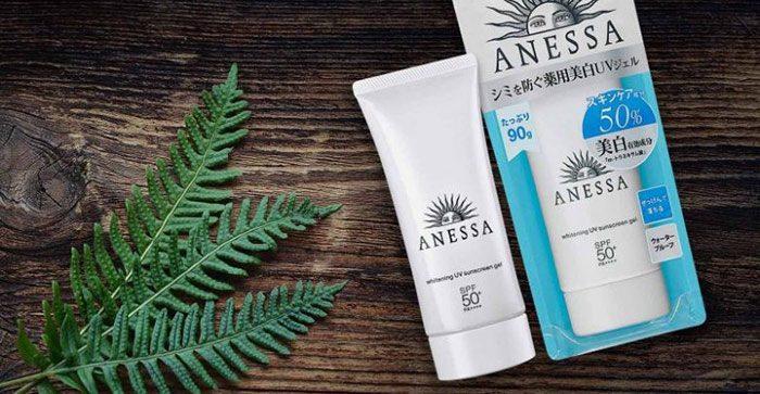 Kem chống nắng Anessa Whitening UV Sunscreen Gel SPF50 Pa+++