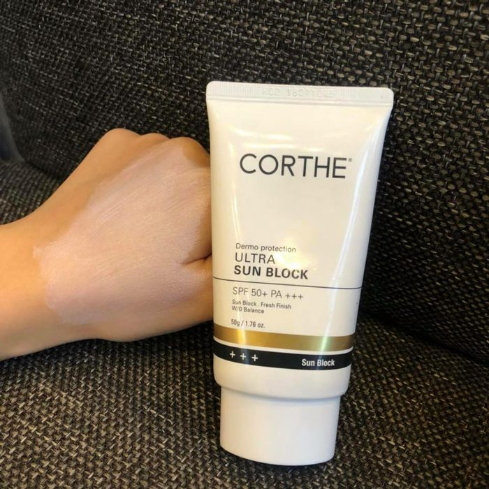 Kem chống nắng Corthe Dermo Protection ULTra Sun BLock SPF50+ PA+++