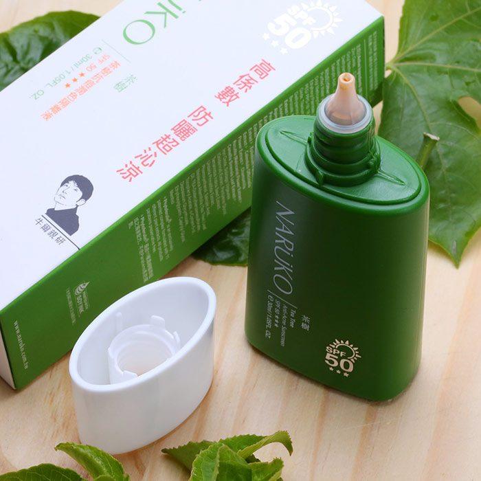 Kem Chống Nắng Naruko Tea Tree Anti–Acne Sunscreen SPF50 PA+++