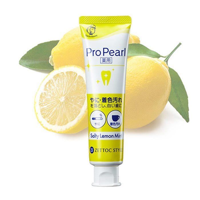 Kem Đánh Răng Zettoc Toothpaste ProPearl Mint
