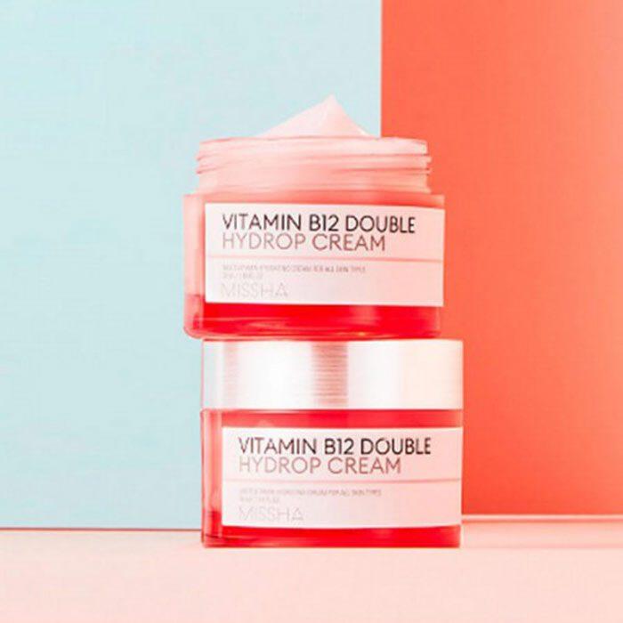 Kem Dưỡng Missha Vitamin B12 Double Hydrop Cream Concantrate