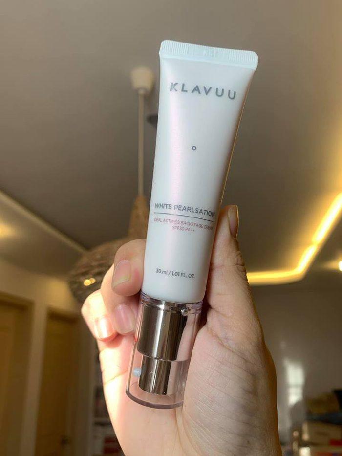 Kem lót KLAVUU White Pearlsation Ideal Actress Backstage Cream