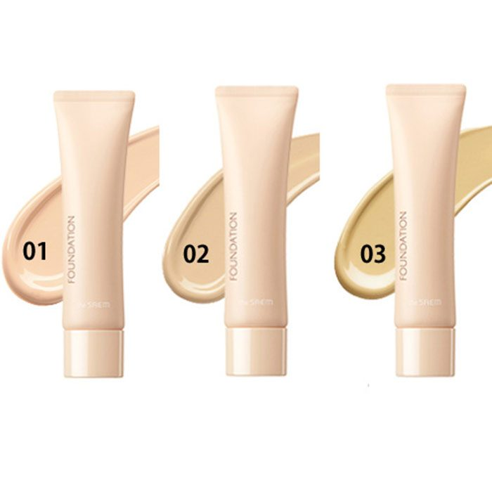 Kem nền the SAEM Saemmul Airy Cotton Foundation SPF/30 PA++