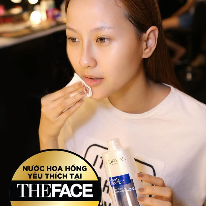 Nước Hoa Hồng L'Oréal White Perfect Whitening Moisturizing Toner