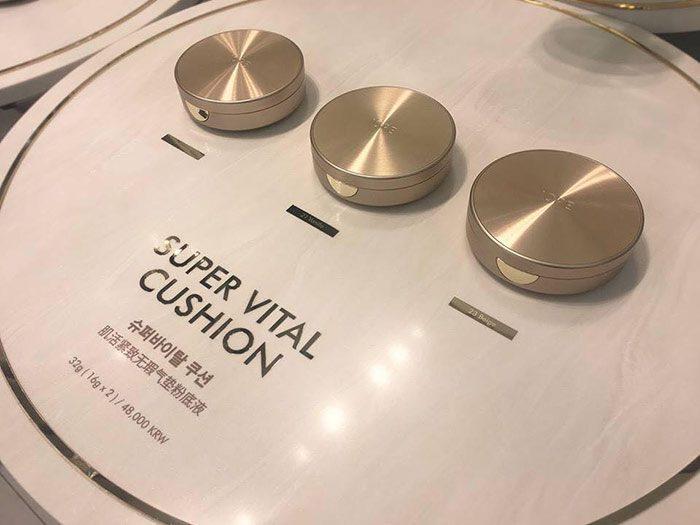 Phấn Nước IOPE Super Vital Cushion SPF 50 PA+++