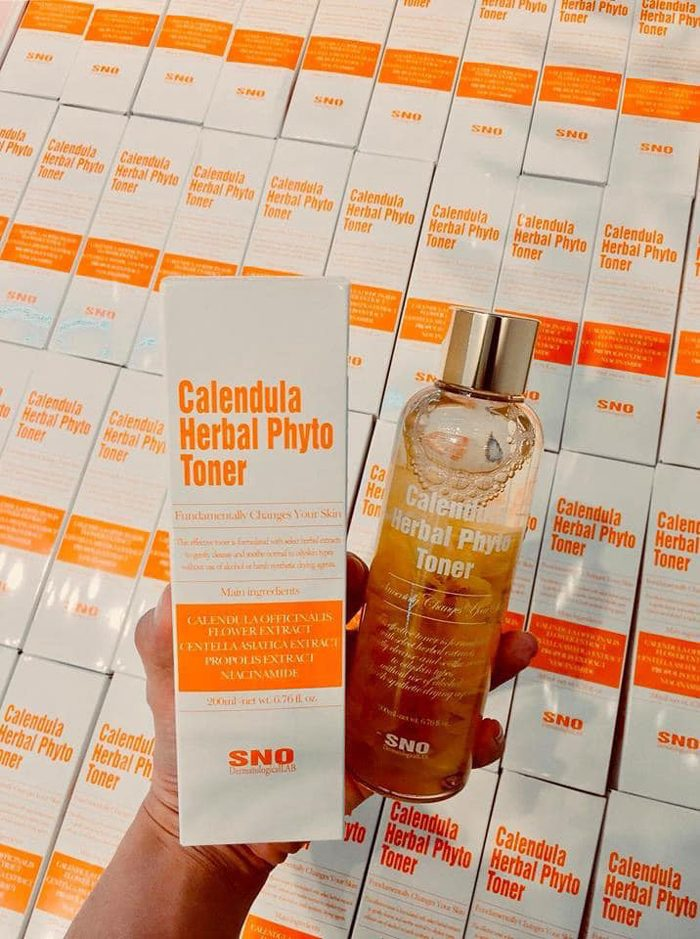 SNO Calendula Herbal Phyto Toner