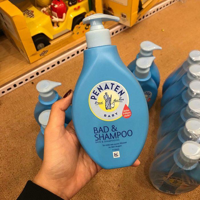 Sữa Tắm Gội Penaten Bad & Shampoo