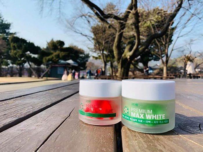 Viên Uống Trắng Da Genie Premium Max White Rose Hip
