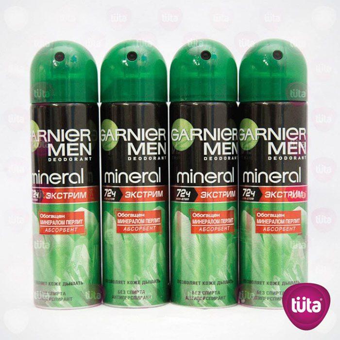 Xịt khử mùi Garnier Men Mineral