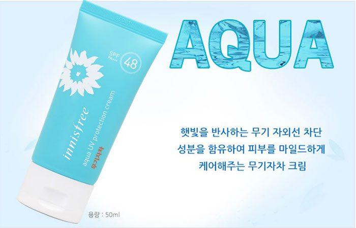 Kem chống nắng Innisfree Aqua Water Drop Sunscreen SPF50+PA++++