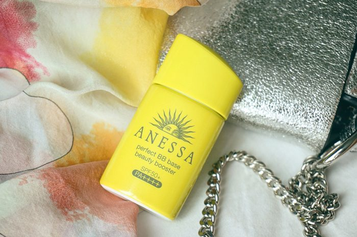 Kem chống nắng Anessa Perfect BB Base Beauty Booster SPF50 PA++++